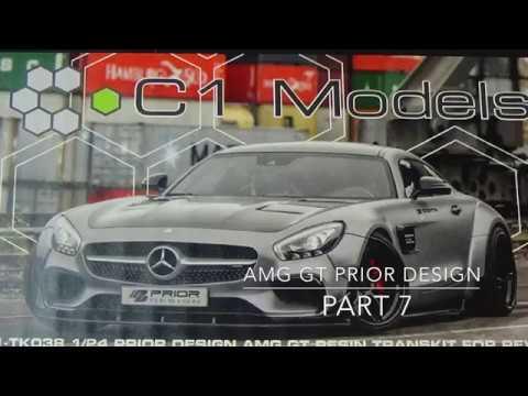 REVELL Mercedes AMG GT Prior Design Part 7