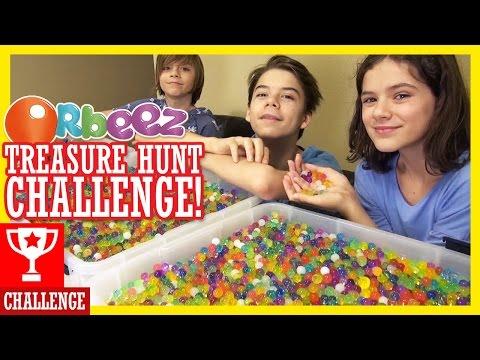 ORBEEZ TREASURE HUNT CHALLENGE!|KITTIESMAMA