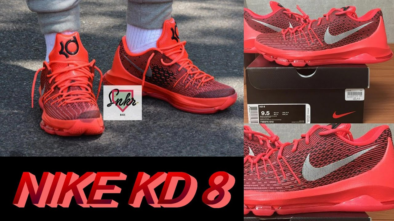 4ef03a0aedf7 Nike KD 8 First Images + My Thoughts - YouTube