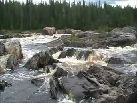 Kettle Falls Missinaibi river Northern Ontario