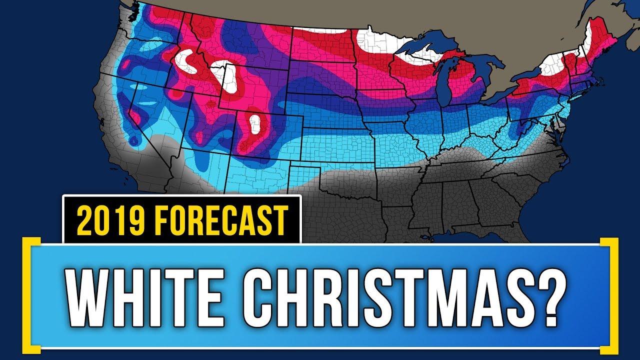 White Christmas Forecast.Your White Christmas Forecast 2019