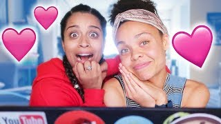 WE TOOK A COUPLES COMPATIBILITY TEST!