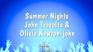 Summer Nights - John Travolta & Olivia Newton-john (Karaoke Version)