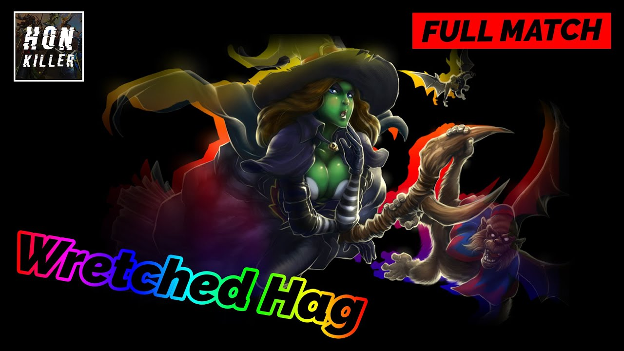 Wretched Hag Heroes of Newerth Gameplay   iYOLO   Immortal