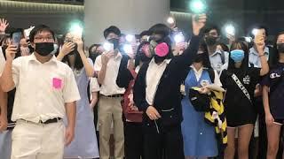 香港中学生的呐喊