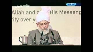7/10 Part 2 of Huzur (atba)'s concluding address at the 38th MKA UK Ijtema 2010 - MTA International