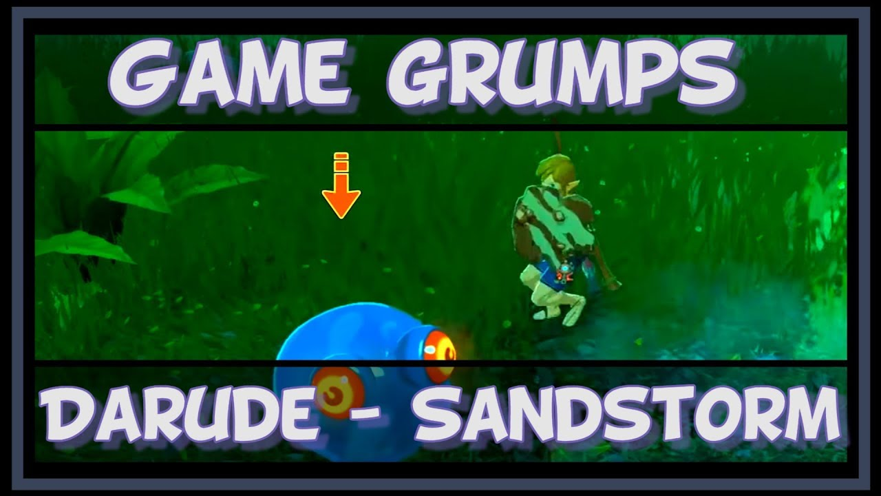 Game Grumps Darude Sandstorm Youtube
