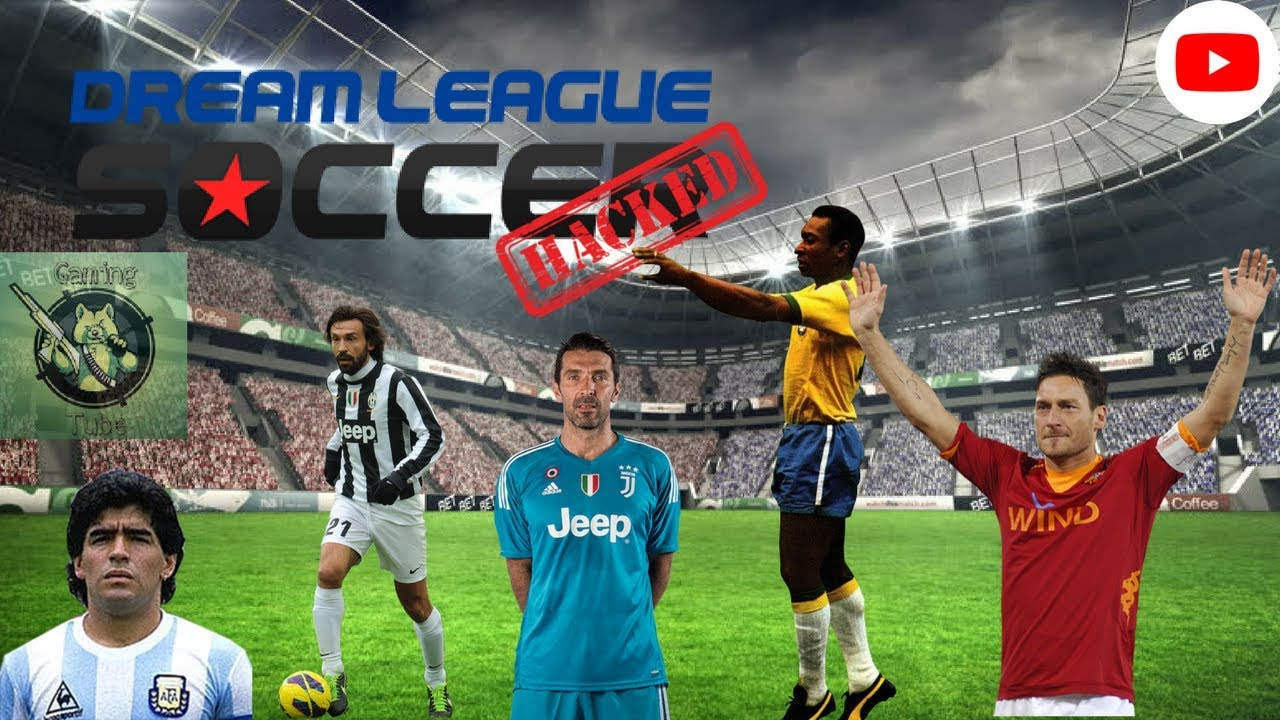 Download Dream league soccer 18 Mod Legends Cracked (Maradona    )