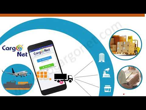 Logistics software - Cargo Net - Cargo Tracking Mobile App From I Code Technologies Pvt. Ltd.