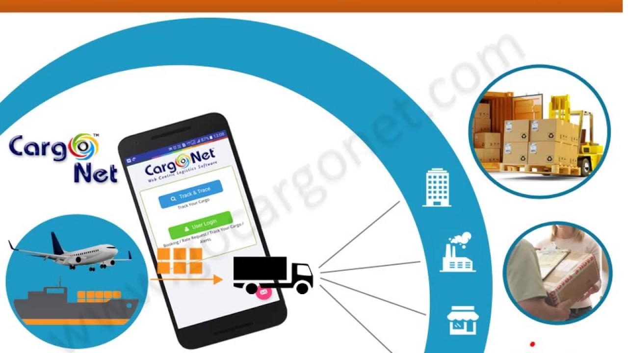 Logistics software - Cargo Net - Cargo Tracking Mobile App From I Code  Technologies Pvt  Ltd