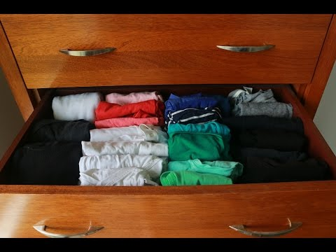 Organising your Chest of Drawers