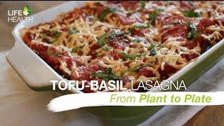 Tofu Basil Lasagna