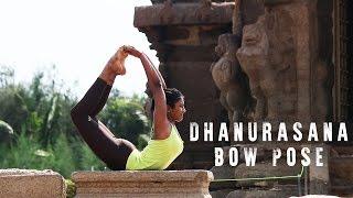 How to do Dhanurasana (Bow Pose) and variation