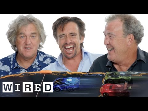 Jeremy Clarkson, Richard Hammond & James May Race Toy Cars | WIRED