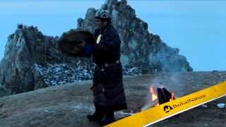 Shamanic ritual on Baikal Shore