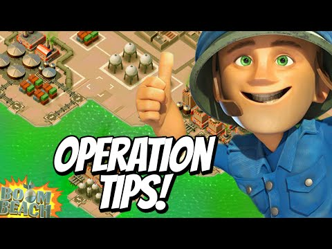 Boom Beach - Helping Your Teammates in Operations! (Taskforce Tips!)