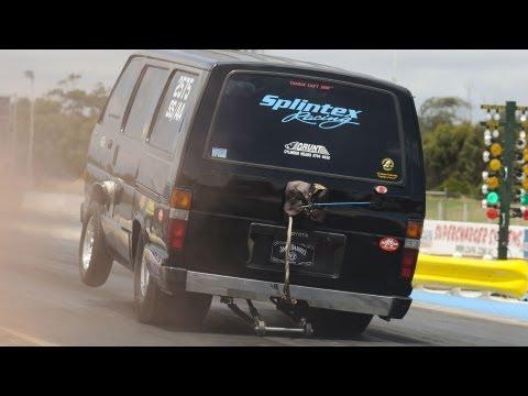 Toyota Hiace V8 turbo Van