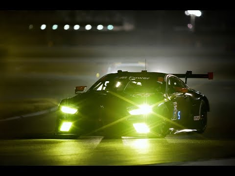 The light technology on the new BMW M8 GTE – BMW Motorsport.