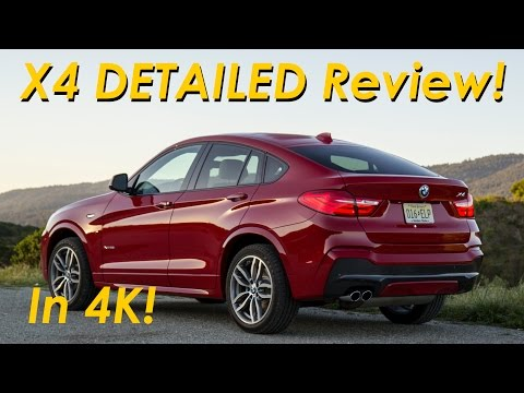 2015 BMW X4 xDrive28i M-Sport DETAILED Review and Road Test - in 4K!