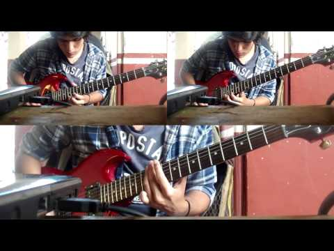This Is Usually The Part Where People Scream - Alesana (Lead I, Lead II and Rythm Guitar Cover)