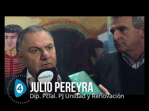"""Julio Pereyra: """"No es momento para tibios. Es un momento para organizarse y defender lo obtenido con Néstor y Cristina"""""""