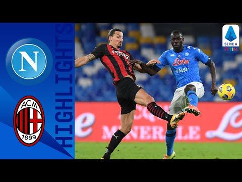 Napoli 1-3 Milan | Milan reclaim the top spot! | Serie A TIM