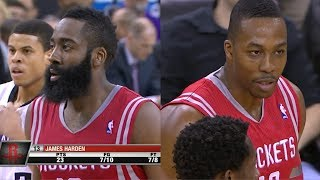 Repeat youtube video 2014.02.25 - James Harden & Dwight Howard Full Combined Highlights at Kings