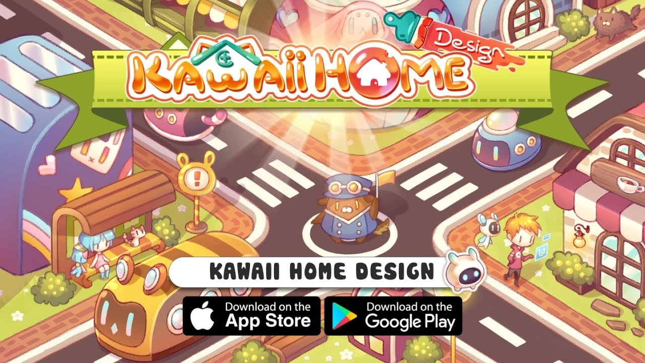 Kawaii Home Design Official Trailer 3 Mobile Game 2019
