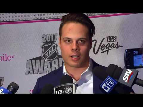 NHL Awards | Mike Babcock & Auston Matthews - June 20th, 2017