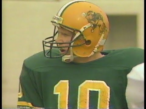 North Dakota State Bison  vs  UND - 1990 - Full Game
