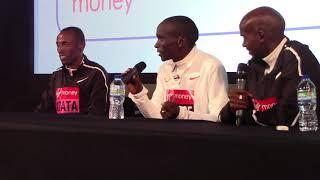 Eliud Kipchoge describes his victory at 2018 London Marathon
