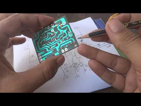 Delay automatic on timer circuit reverse engineering.