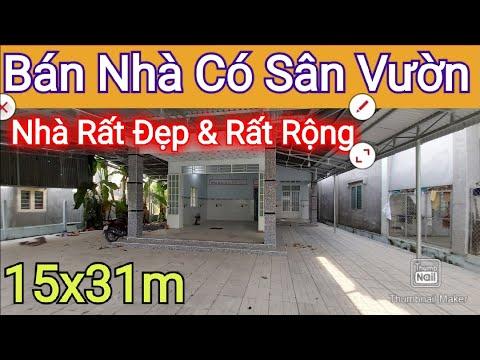 BÁN NHÀ ĐẤT Rộng Rãi Thoáng Mát 15x31m - Hướng TÂY Bắc Giá Phải Chăng | Điền Thổ Tây Ninh