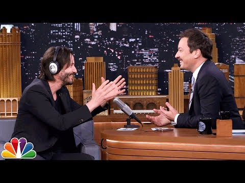 Thumbnail: The Whisper Challenge with Keanu Reeves