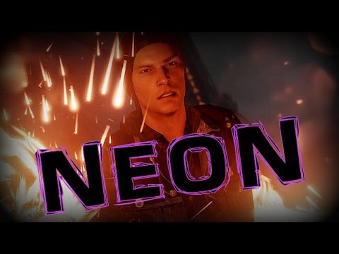 inFAMOUS Second Son Free Roam - Neon Power Gameplay