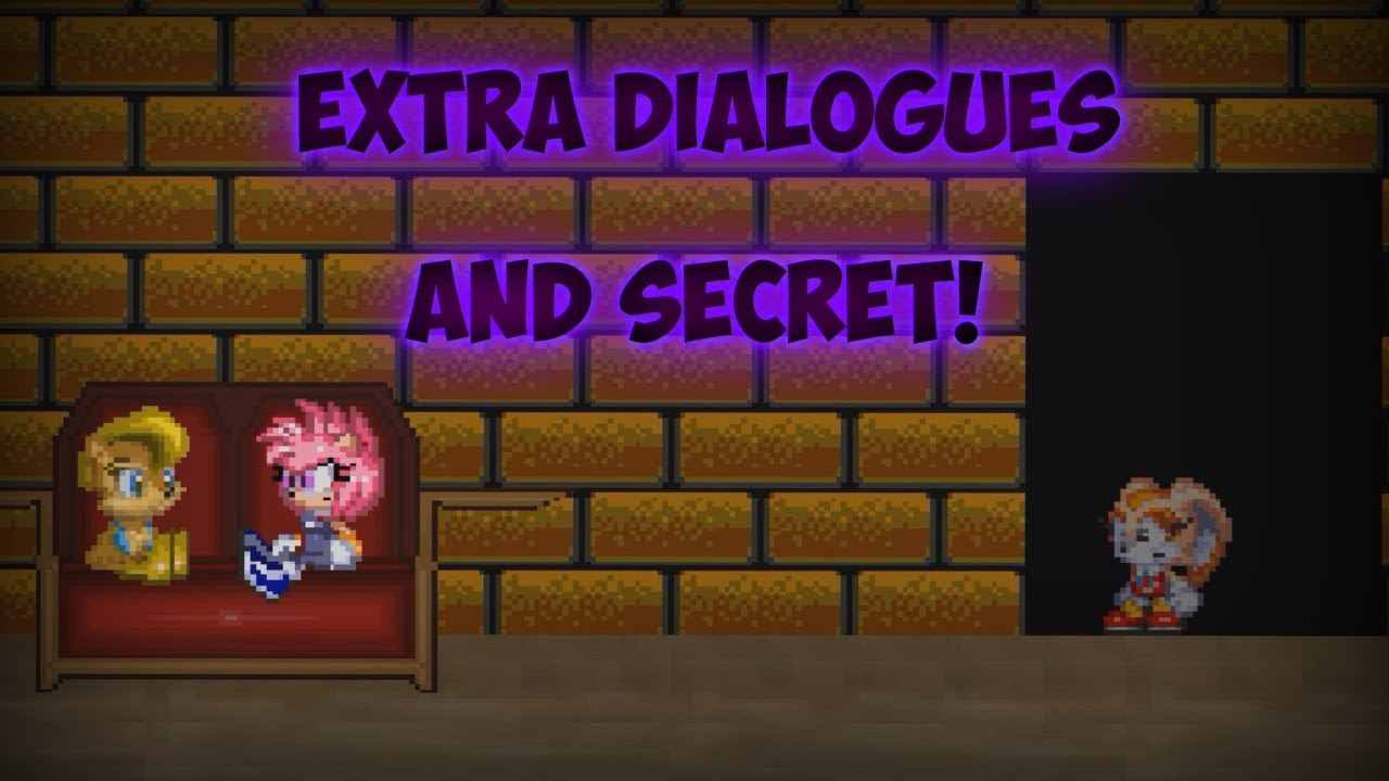 some extras dialogues and secret sally exe continued nightmare
