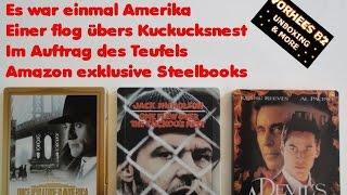 Unboxing - Es war einmal Amerika / Einer flog übers Kuckucksnest / Im Auftrag des Teufels