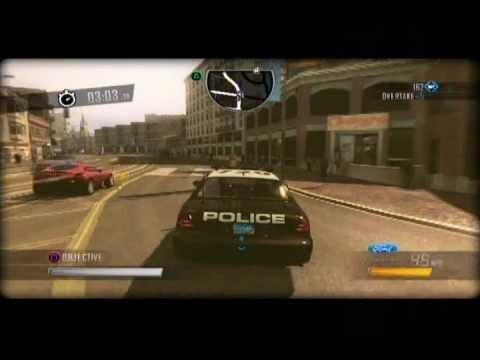 driver san francisco ps3 demo police car shift driving. Black Bedroom Furniture Sets. Home Design Ideas