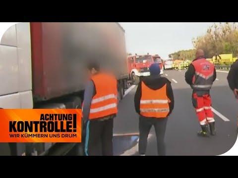 Massen-Crash auf der Autobahn: Die Abschlepper in Ausnahmezustand! | Achtung Kontrolle | kabel eins