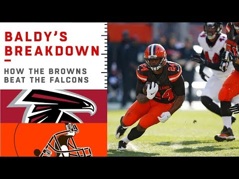 How the Browns Offense Outsmarted the Falcons Defense | NFL Film Review