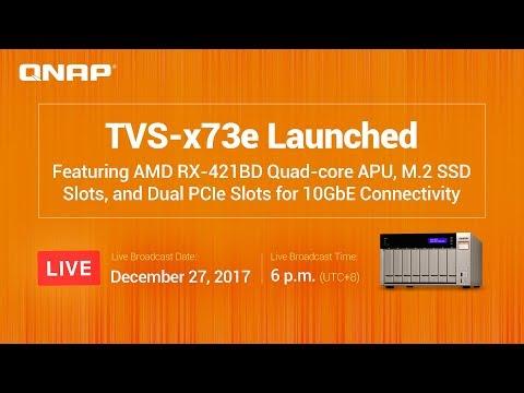 QNAP TVS-x73e SMB NAS Launched