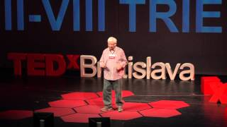Mathematics as a source of joy: Milan Hejny at TEDxBratislava 2013