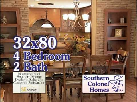 Whlt southern colonel homes april youtube for Colonel homes