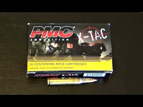 PMC X-Tac 5.56 55Grain FMJ BT non green tip