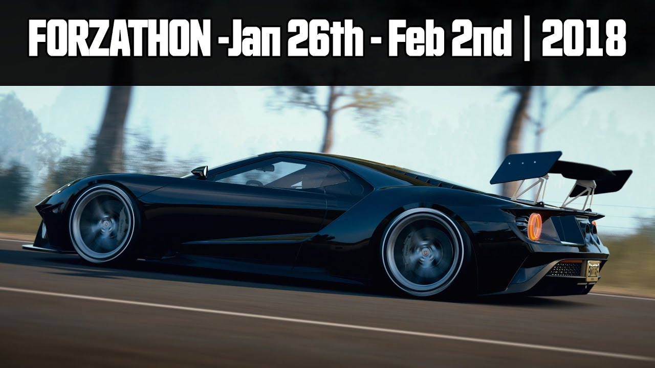 Forzathon  Ford Gt He Forza Horizon