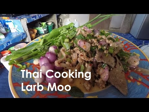 Spicy Larb Moo – Thai Cooking