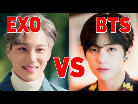 BTS vs EXO 2019