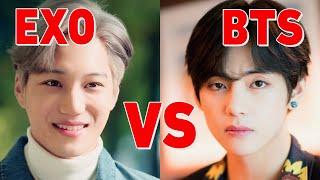 Gambar cover BTS vs EXO 2019