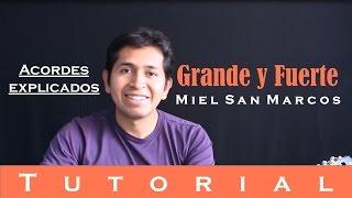 Grande y Fuerte - Miel San Marcos (Tutorial guitarra)