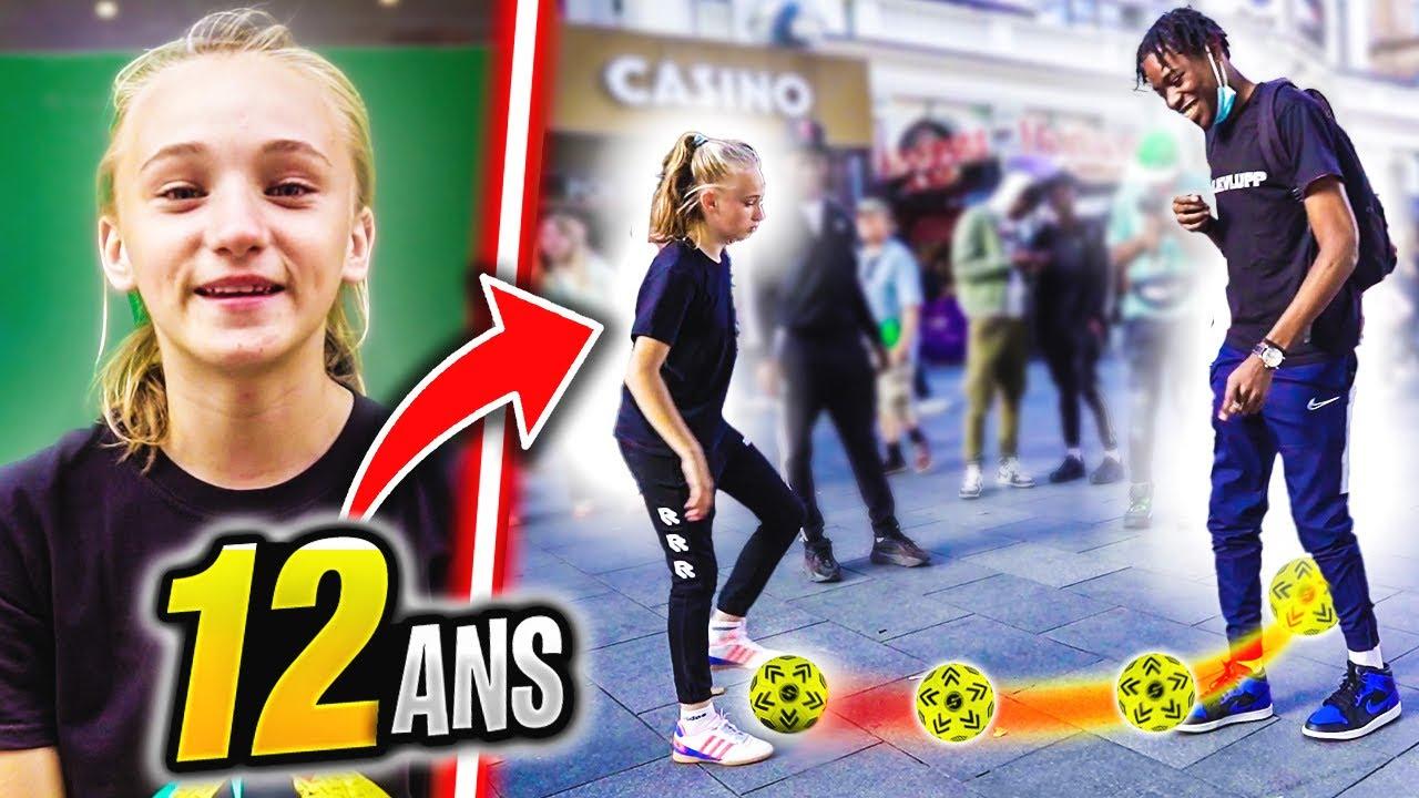 CETTE FILLE DE 12 ANS HUMILIE TOUT LE MONDE AU FOOTBALL!